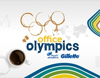 office olympics Gillette Head&Shoulders